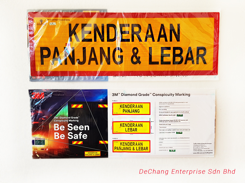 Lorry-reflective-sticker Truck-reflective-sticker 3M-reflective-sticker 3M-lorry-reflective-sticker lorry-reflective-sticker-supplier DeChang-Enterprise-Sdn-Bhd